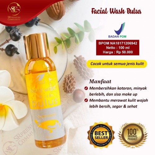 FACIAL WASH BULUS