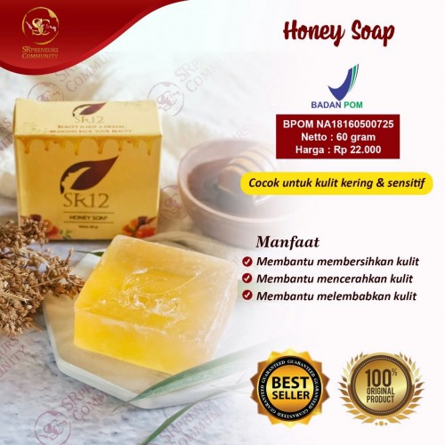 HONEY HERBAL SOAP