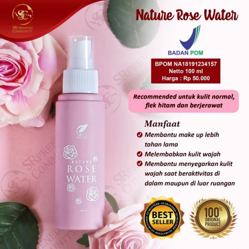 NATURE ROSE WATER