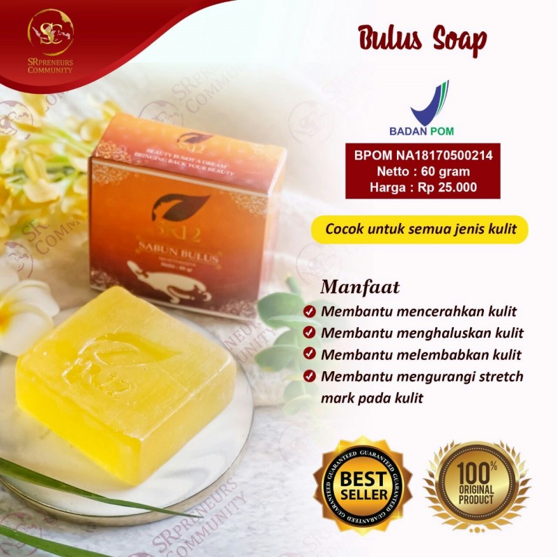 BULUS HERBAL SOAP