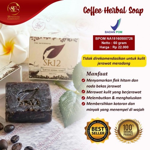COFFEE HERBAL SOAP