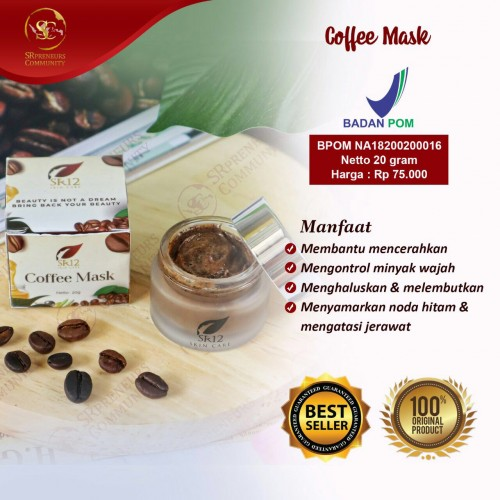 COFFEE MASK PEEL NATURAL