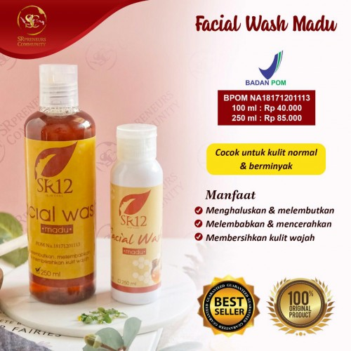 FACIAL WASH HONEY