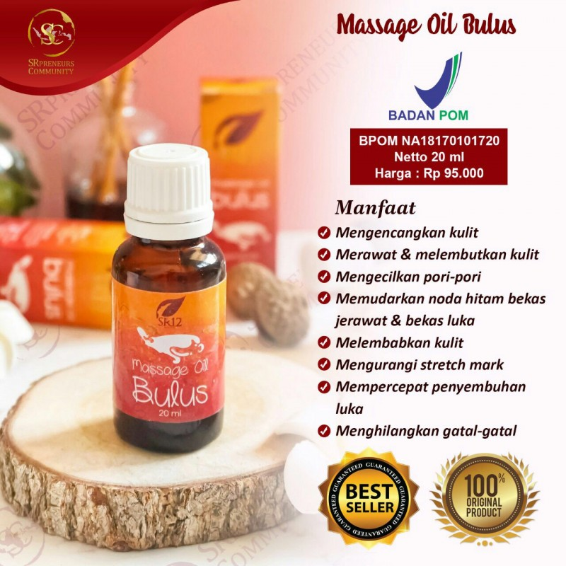 MASSAGE OIL BULUS