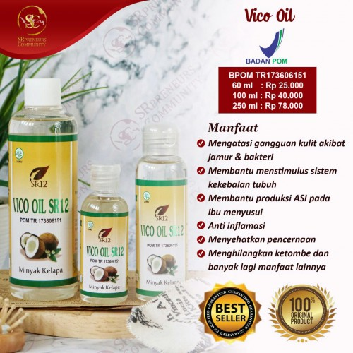 VCO CAIR - VIRGIN COCONUT OIL