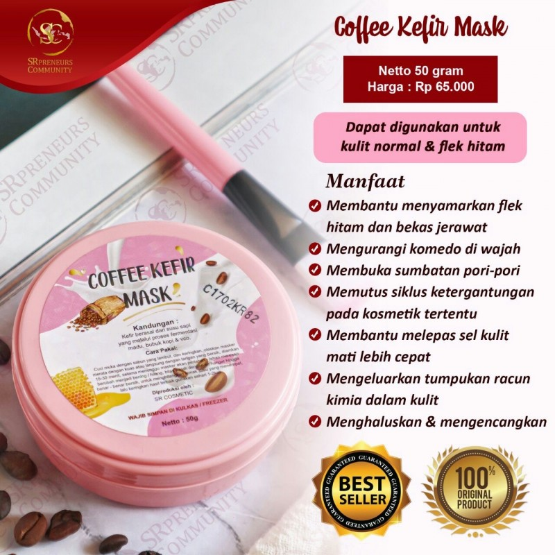 COFFEE KEFIR MASK