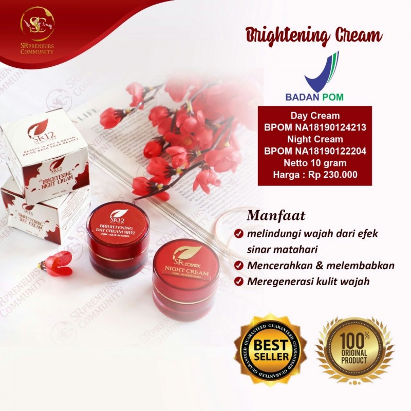 BRIGHTENING DAY & NIGHT CREAM