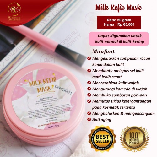 MILK KEFIR MASK